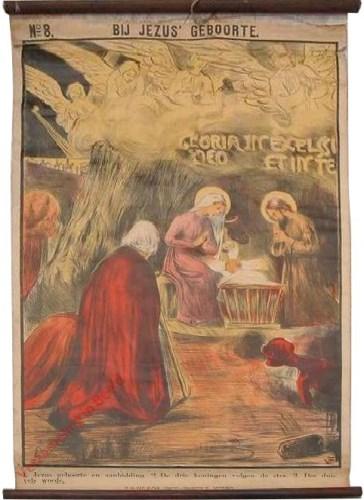 8 - Bij Jezus� geboorte [Nederlands]